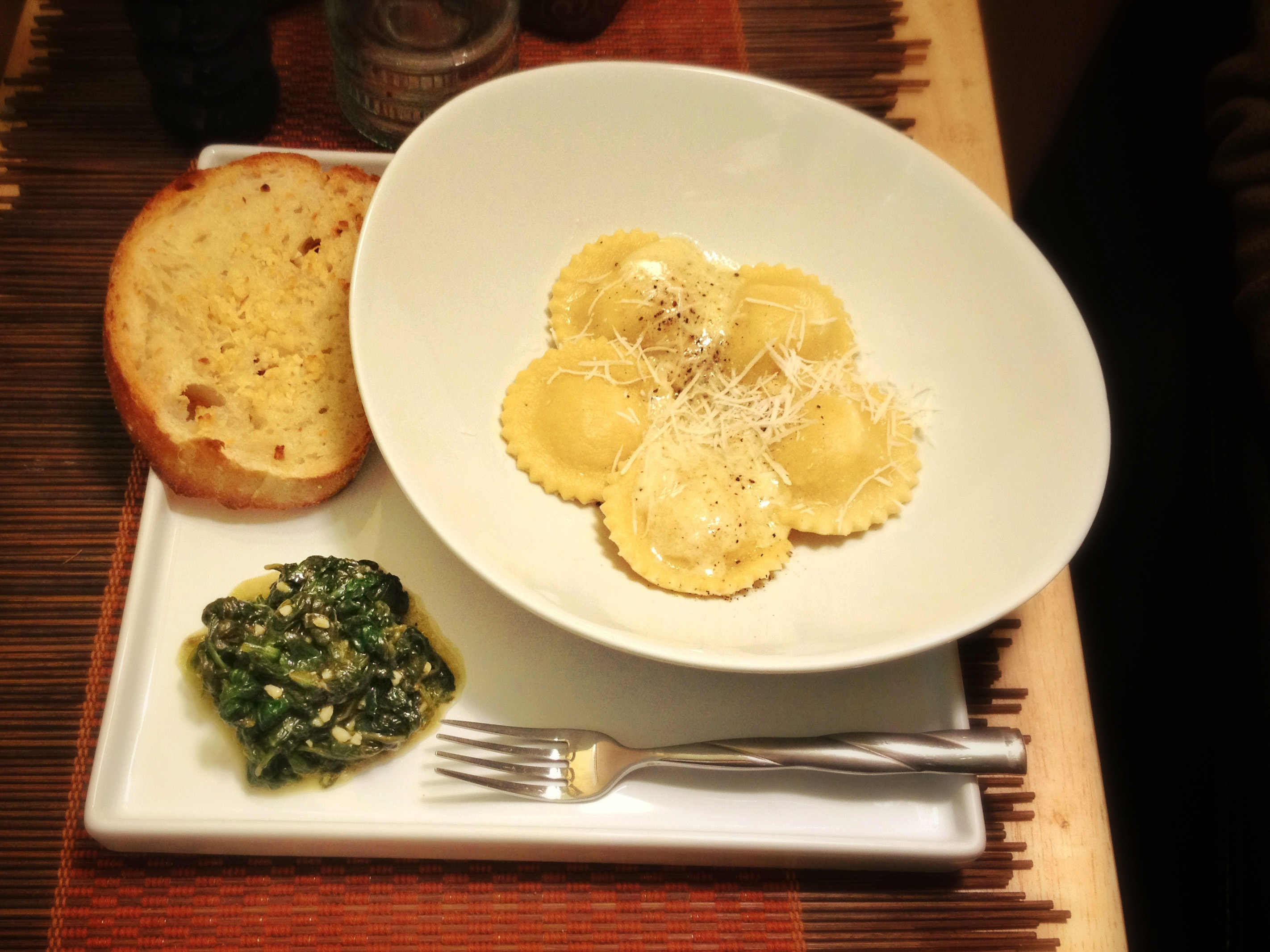 Pear and Pecorino Cheese Ravioli