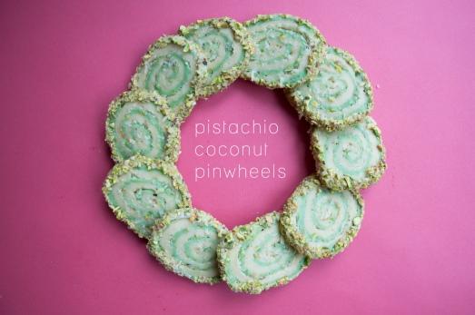 Pisatchio Coconut Pinwheels