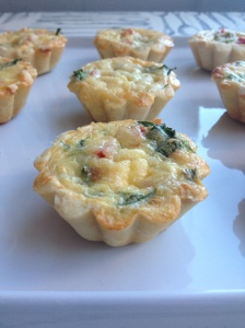 Goat Cheese Quiche Tartlet