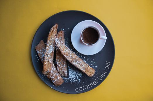Caramel Biscotti