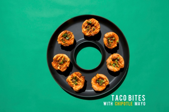 Taco Bites with Chipotle Mayo