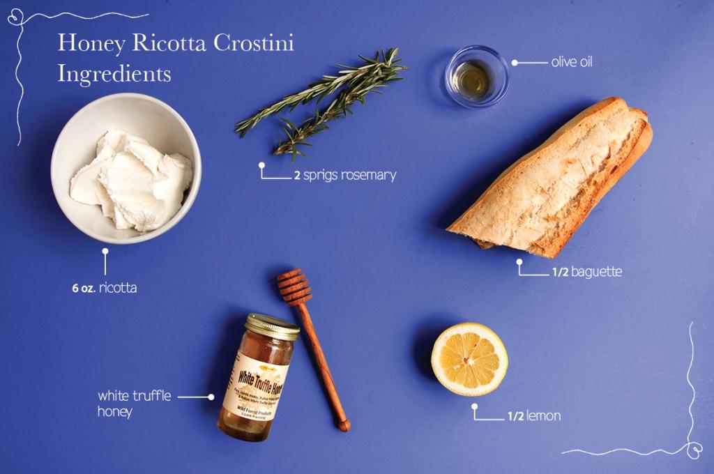 Honey-Ricotta-Crostini-Ingredients